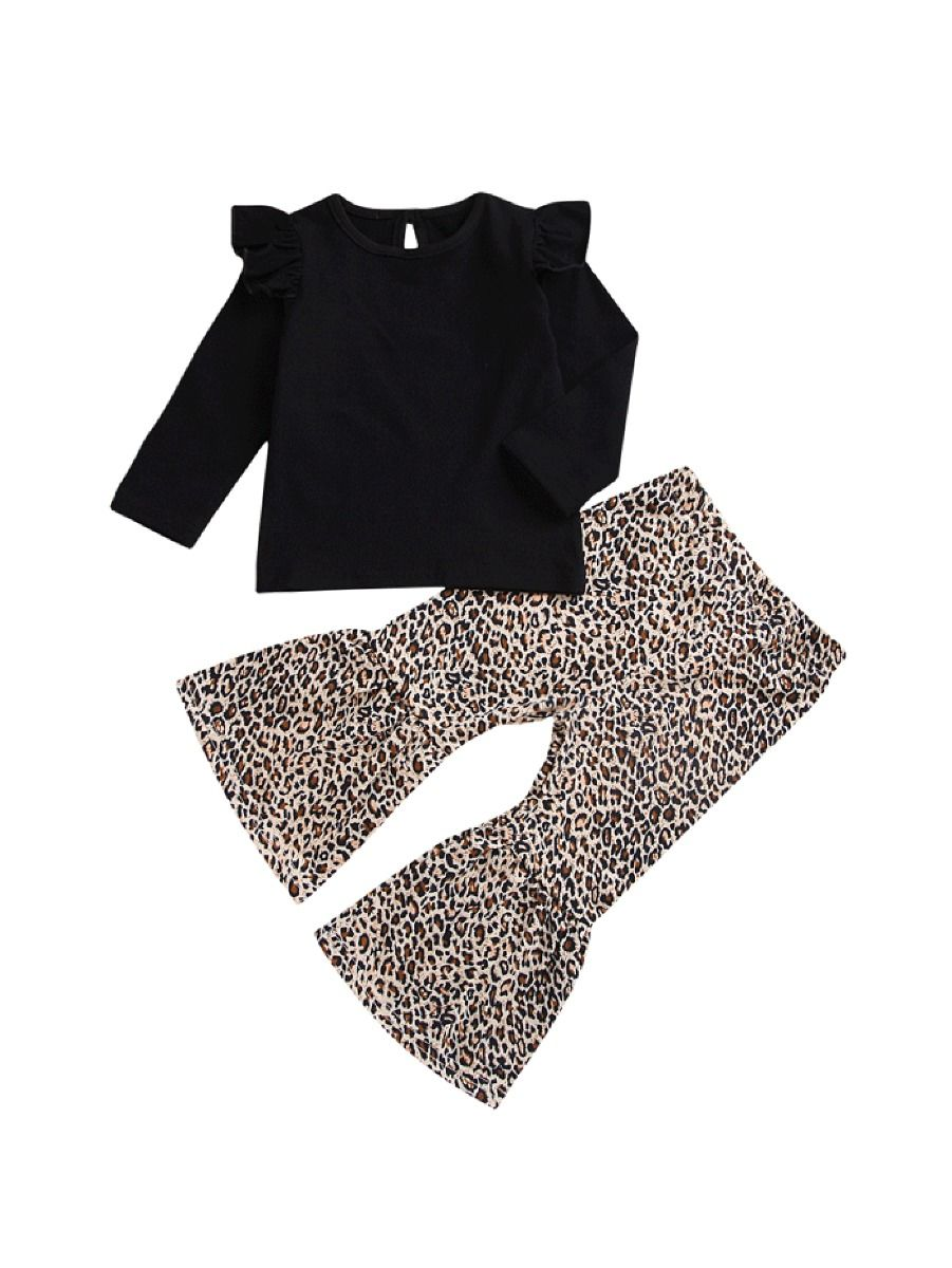 Leopard Girls 2 Piece Set