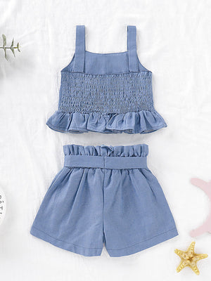 Denim 2 Piece Set