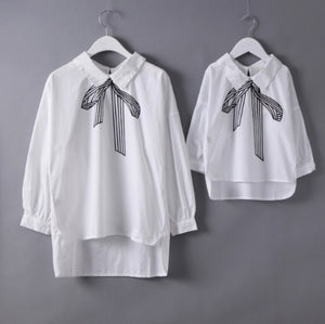 Bow Tie Mommy and Me Shirt