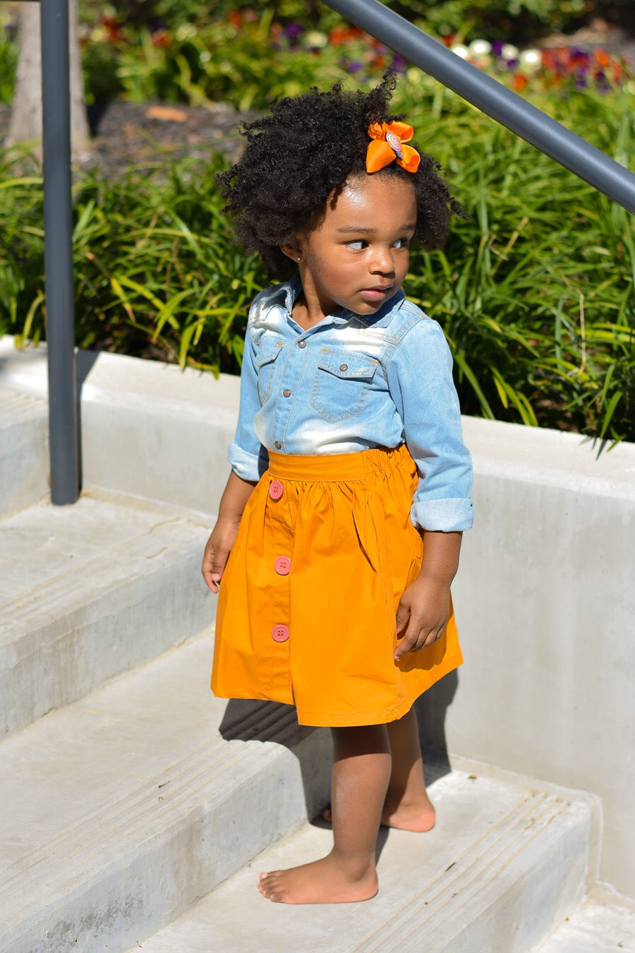 Bailey Skirt- Orange
