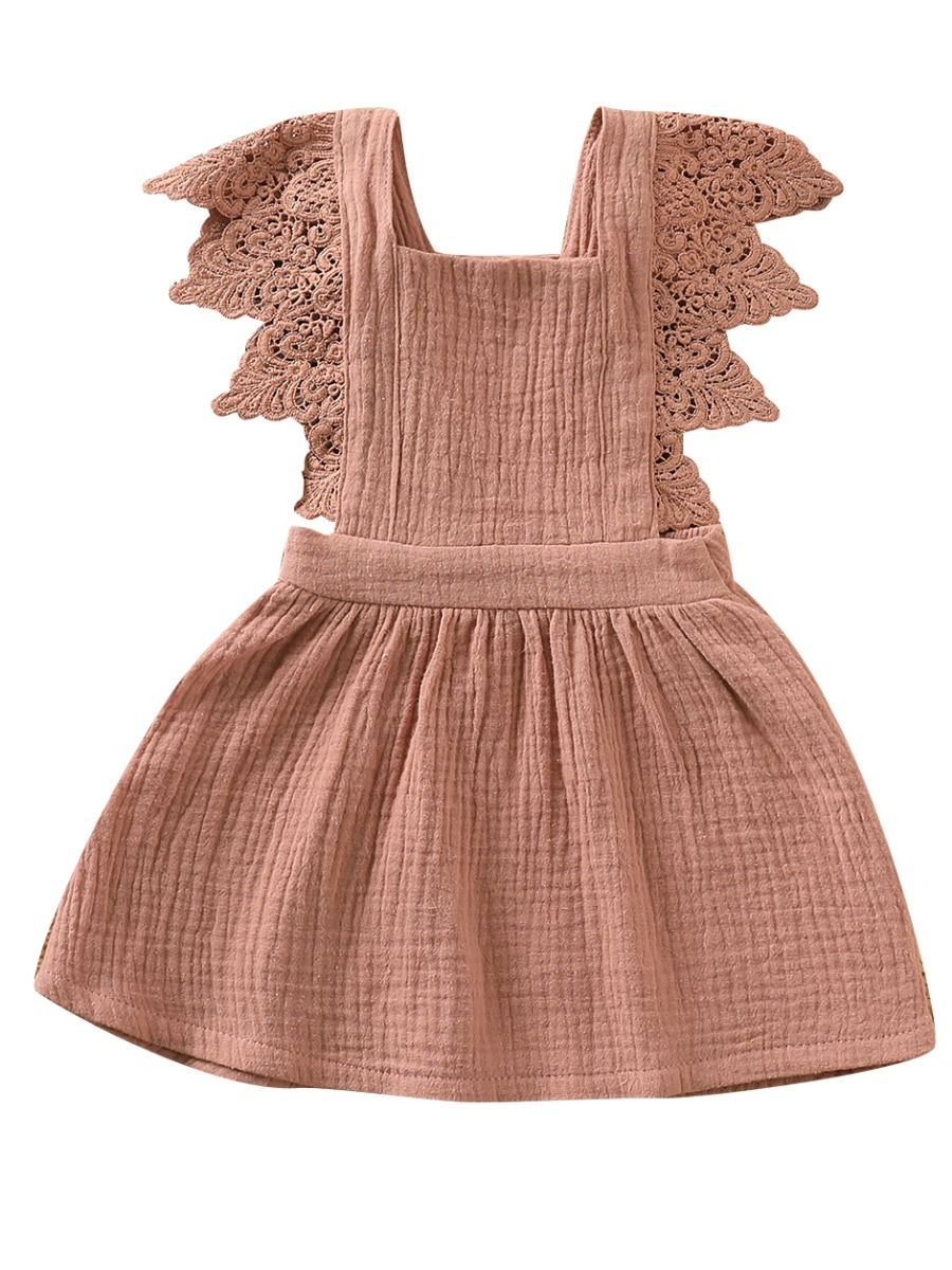 The Lacey Dress- Cocoa