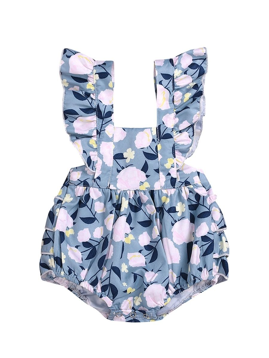Betsy Ruffled Playsuit