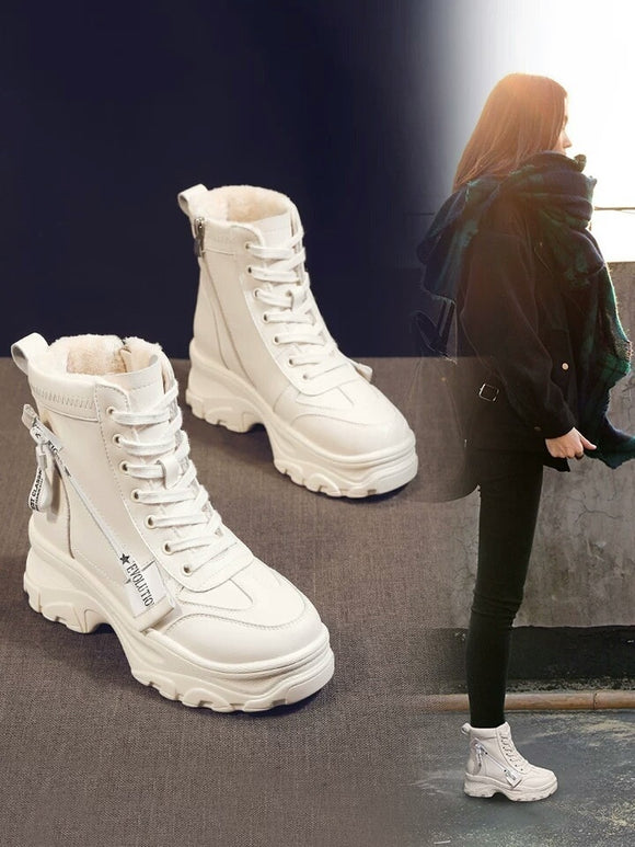 Increase Your Height Ankle Boots-nbemporium.com