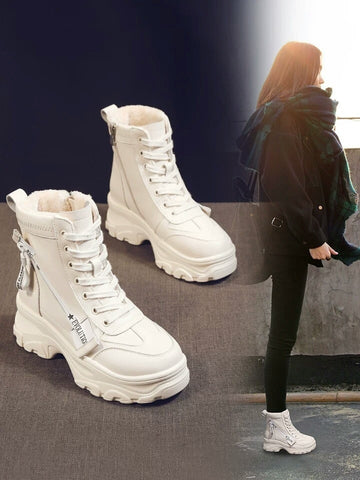Increase Shortness Ankle Boots-nbemporium.com