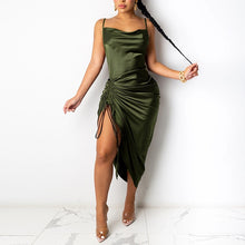 Load image into Gallery viewer, Spaghetti Strap Backless Dress