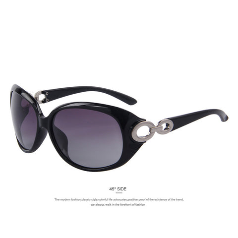 Women Gradient Polarized UV400 Sunglasses-Nikkis Beauty Emporium