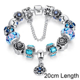 2017 Silver Chain New Fashion Beads Charm Bracelets-Nikkis Beauty Emporium