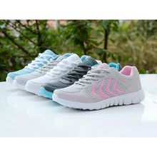 Load image into Gallery viewer, Light Weight breathable Mesh Casual Sneakers