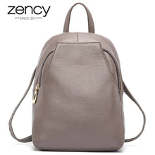 Load image into Gallery viewer, Genuine Leather Ladies Backpack-nbemporium.com