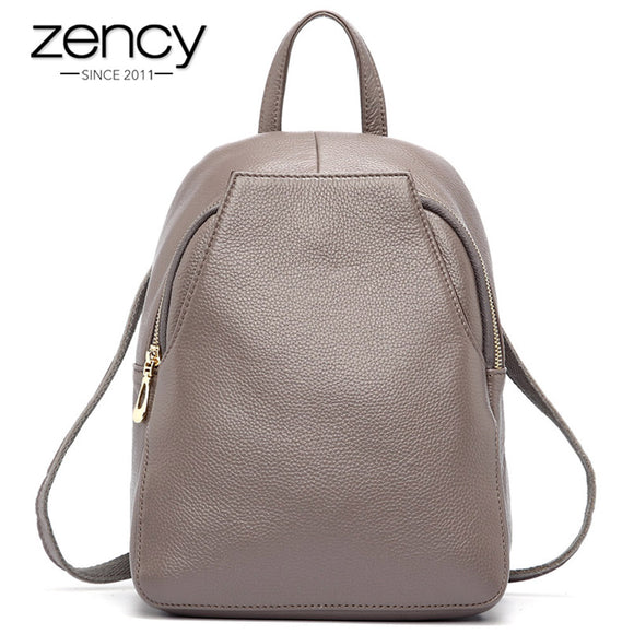 Genuine Leather Ladies Backpack-nbemporium.com