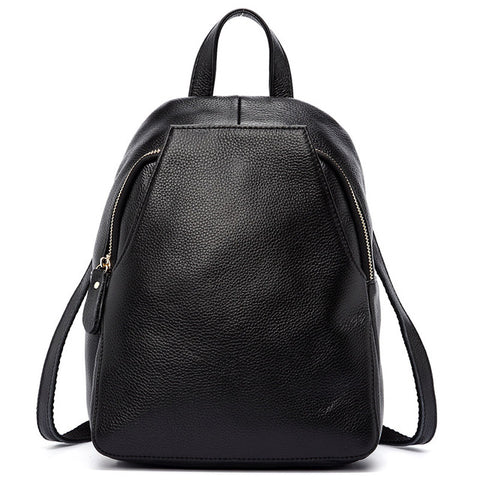 Winter New Arrival Women Backpack 100% Genuine Leather Ladies Travel Bags Preppy Style Schoolbags For Girls High Quality-Nikkis Beauty Emporium