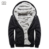 ASALI Cardigan Hooded Casual Thick Wool Mens Coat