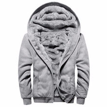 Load image into Gallery viewer, ASALI Cardigan Hooded Casual Thick Wool Mens Coat