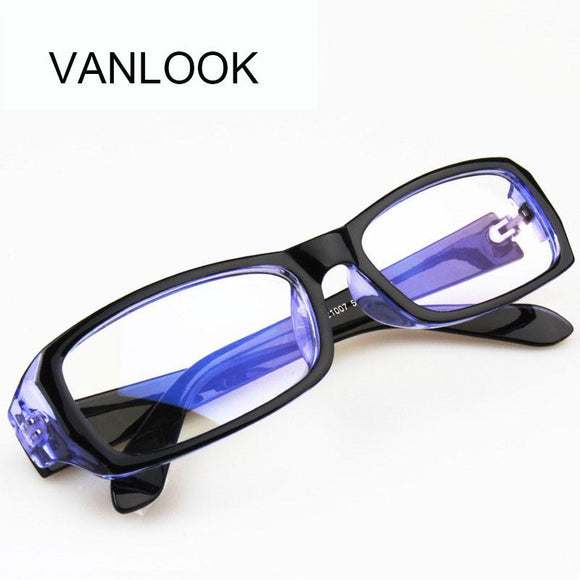 Anti Blue Ray Computer Glasses Spectacle Frame Oculos de Grau Female Transparent Eyeglasses for Women Men Blue Coating Antiglare-nbemporium.com