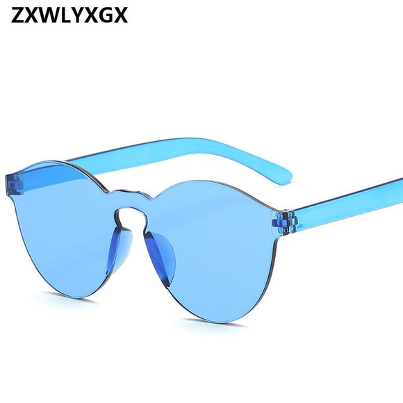 Flat Mirror Sunglasses-nbemporium.com