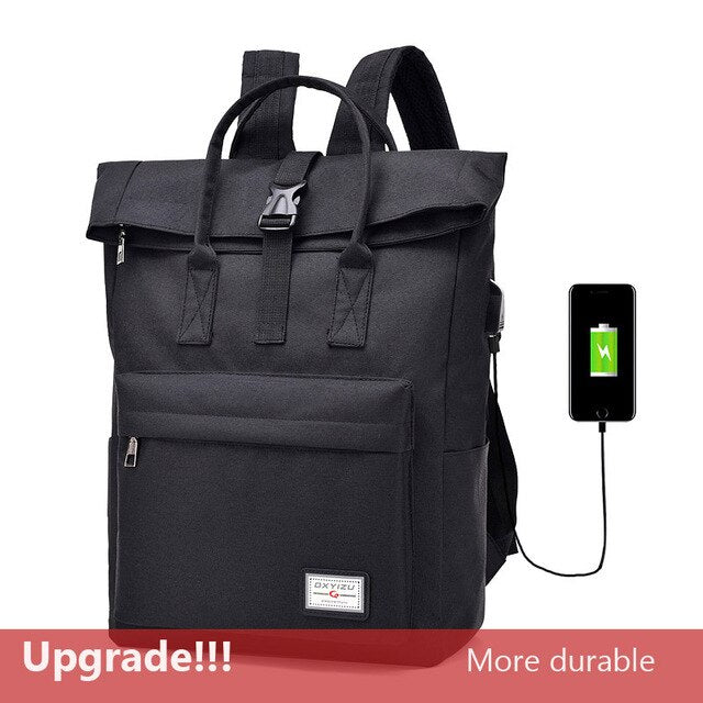 COOL! USB Charging Nylon any occasion Backpacks