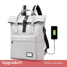 Load image into Gallery viewer, COOL! USB Charging Nylon any occasion Backpacks