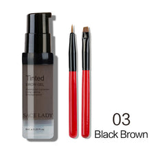 Load image into Gallery viewer, Fill your Brows with Waterproof Eyebrow Shadow Enhancer Tint Brush Kit