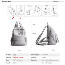 Load image into Gallery viewer, Vintage Style Backpack Purse