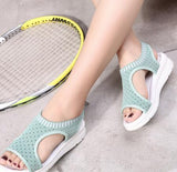 Low Wedge Platform Style Sandals