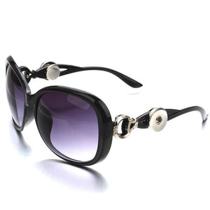 Oval Geometric Sunglasses