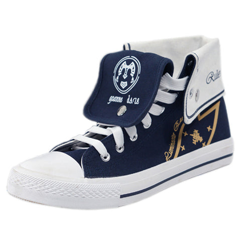 Anime High Top Unisex Canvas Shoes