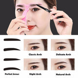 4 Set Brow Eyebrow Tool