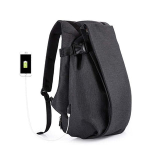 "Business Travel 17.3"" Laptop USB Port Waterproof Backpack-nbemporium.com"