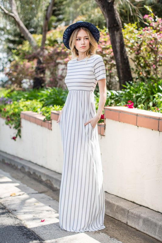 Gracie Striped Maxi