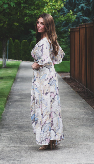 Lovedrunk Floral Wrap Dress
