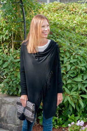 Lovestitch Fringe Sweater