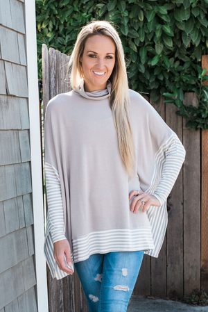 Harper Cape Sweater