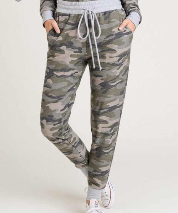 Sunday Morning Camo Joggers