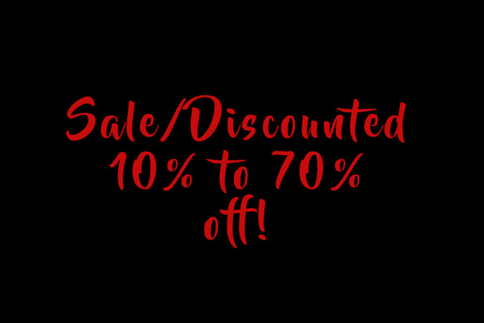 Sale/Discounted items