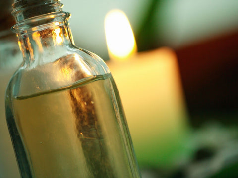 Blend some winter solstice oil for your Yule rituals. Studio Paggy / IZA Stock / Getty Images