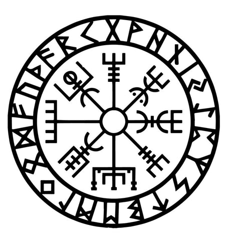 Vegvisir The Symbol Of Guidance And Protection The Witches Sage