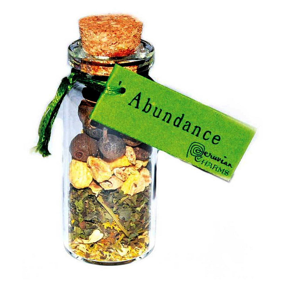 Abundance pocket spellbottle