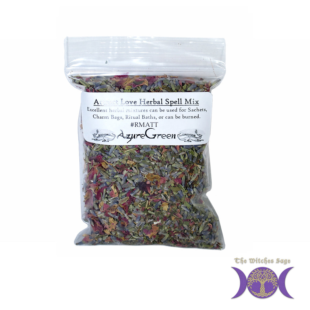 Attract Love Herbal Spell Mix