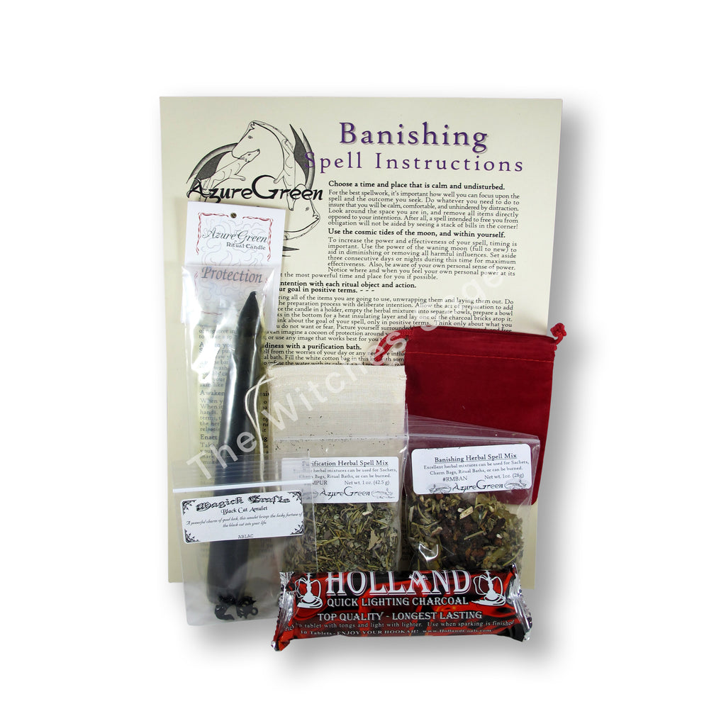 Banishing Ritual Spell Kit