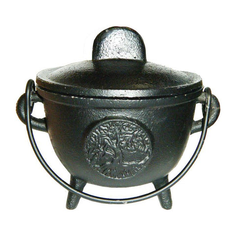 Cast Iron Cauldron - Tree of Life