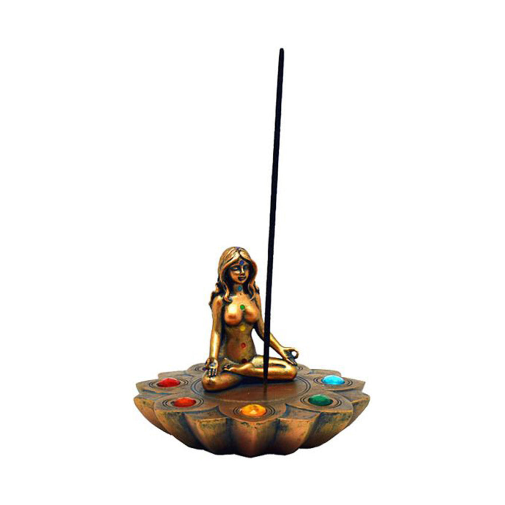Yoga 7 Chakras incense burner