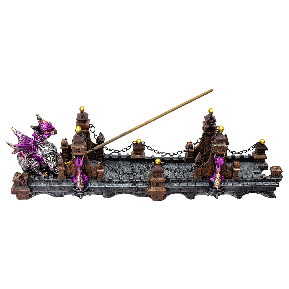 Dragon on Bridge Incense Burner