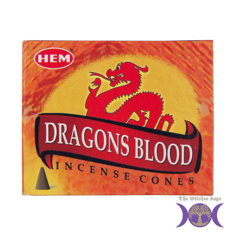 HEM Dragons Blood Incense Cones