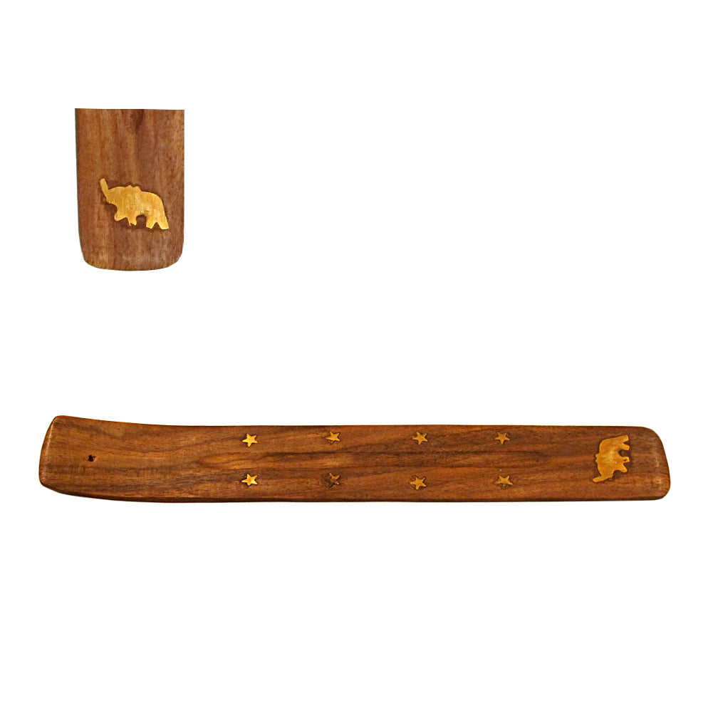 Elephant Wood Incense Boat Burner