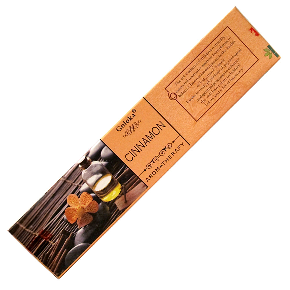 Goloka Aroma Cinnamon Incense Sticks