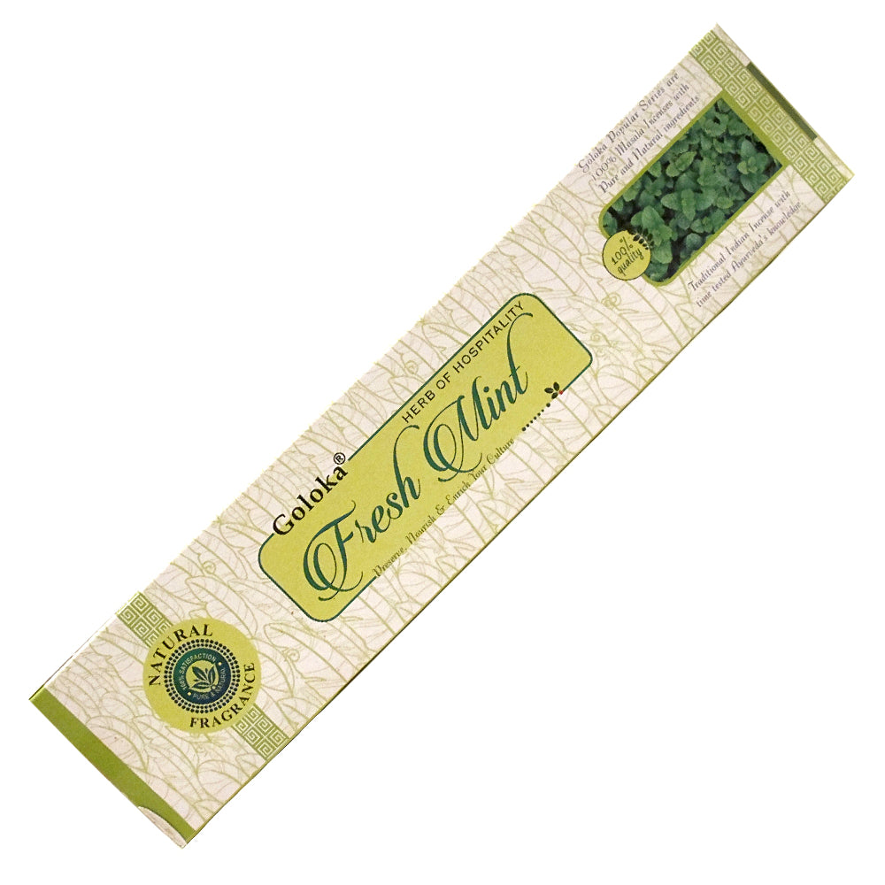 Goloka Fresh Mint Incense Sticks