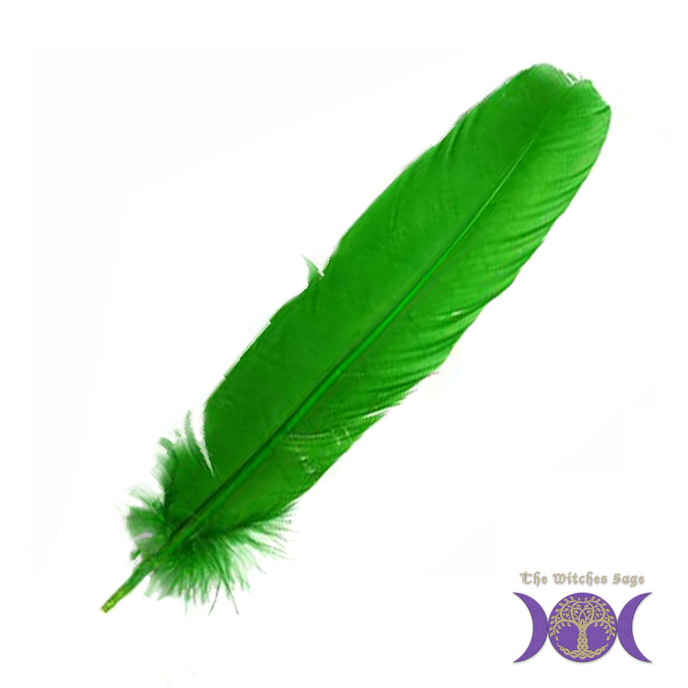 Green Feather 12""