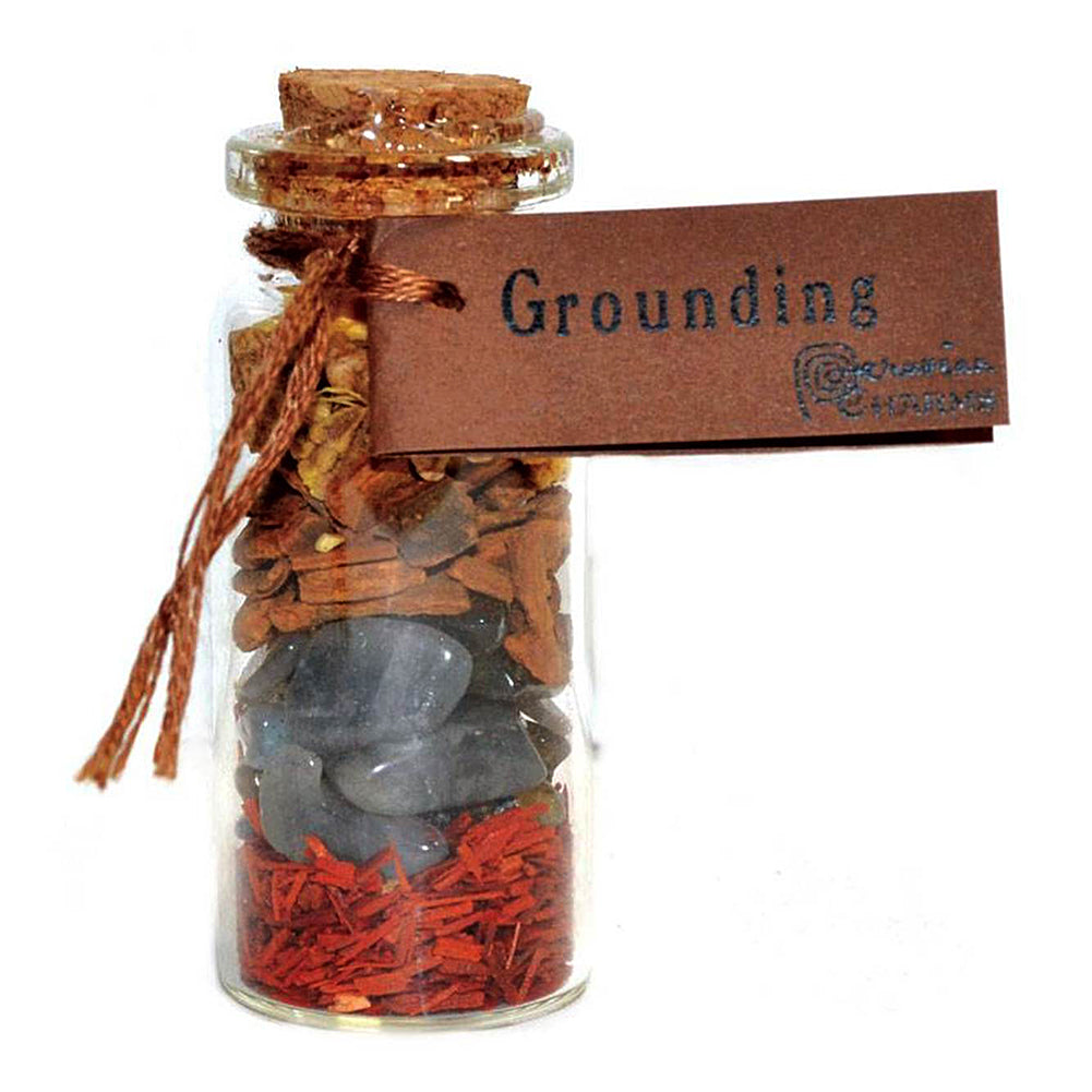 Grounding pocket spellbottle