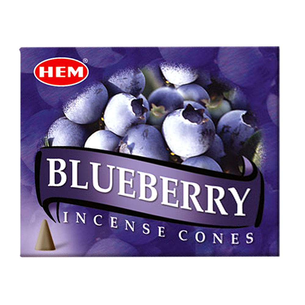 HEM Blueberry Incense Cones