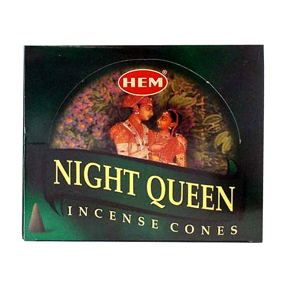 HEM Night Queen Incense Cones